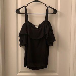 J. Crew women's black blouse